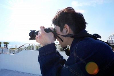 カメラ 男性