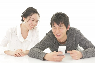 カップル 携帯