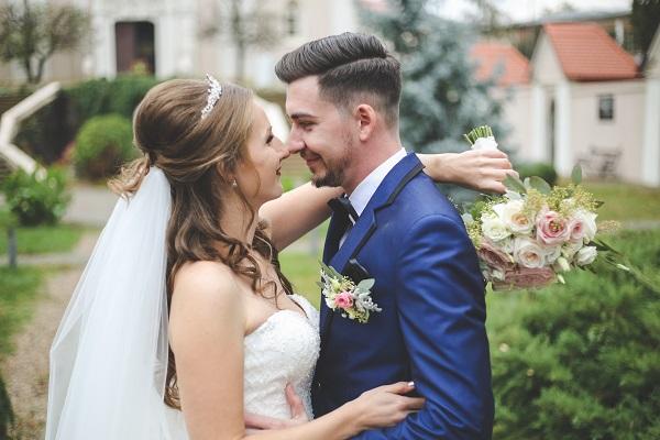 カップル 結婚式