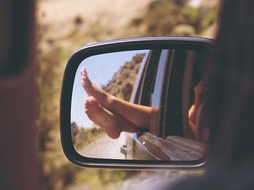 彼女と旅行